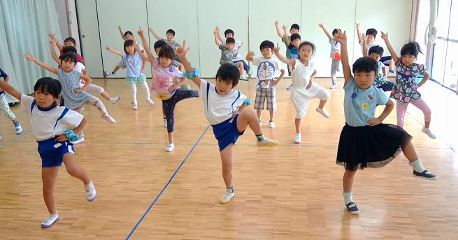 幼稚園練習動画